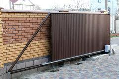 Откатные ворота выгодно в Курске