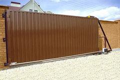 «Алюцентр» предлагает купить откатные ворота с автоматической системой в Курске