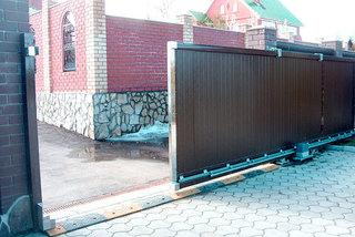Откатные ворота в Курске: цены, особенности