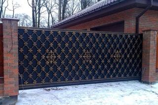 Предлагаем купить откатные ворота в Курске с автоматикой. Бытовые и промышленные ворота с гарантией качества и установкой
